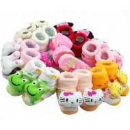 Lovely Animal Anti-Slip Infant baby socks- assorted designs