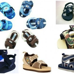 Mabini Baby Boys Beach Sandals- (3mths- 12mths)-assorted designs