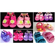 Mabini Baby Girls Beach Sandals- (6mths- 12mths)