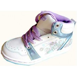 Mercury Girls Hi-Top Ankle Trainers -UK Sizes 8 & 11