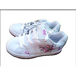 Mia Butterfly Athletic Sneakers- US Size 3/UK Size 2
