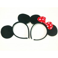 Minnie Mouse Costume Ears / Alice hair band