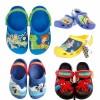 Original Crocs Boys Clog (Size 6-3)- Cars, Toy story, Pooh, Mickey, Spongebob, Spiderman, Planes, Superman