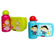 Baby Plus Lunch Plate & Bottle Combo Set (2 colours)