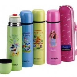 Milton Disney Thermosteel Flask-Mickey, Pooh, Donald