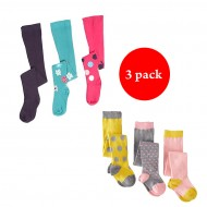 Girls Tights/Popsocks (0-36mths) PACK OF 3