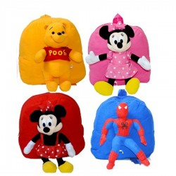 Cartoon Plush Teddy Bags- assorted