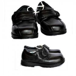 XS Toddler Boys Black Shoes- Size 24