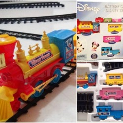 Disney  Mickey Clubhouse 54pcs battery Operated Train Set