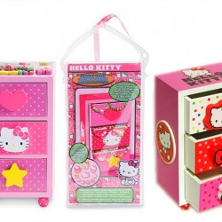 "HELLO KITTY JEWELRY CHEST ""DESIGN YOUR OWN JEWELRY"""