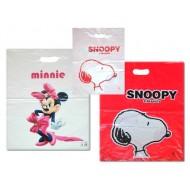 Birthday Nylon Gift Bag- Snoopy, Minnie- pack of 12