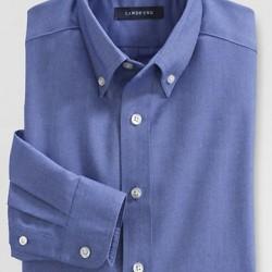 Lands'end Boy Long Sleeve Oxford Shirt- 4yrs