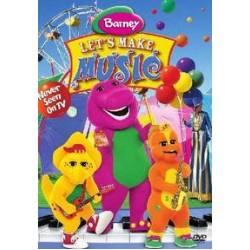 Barney - Let's Make Music (DVD)
