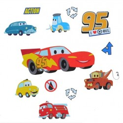 Disney Cars Large Wall Room Decals