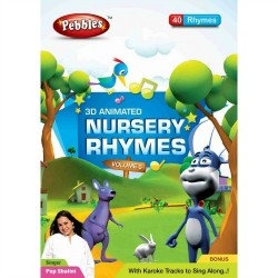Pebbles 3D Nursery Rhymes DVD Vol-3
