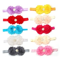 Baby Girl Rose Pearl Princess Hairband