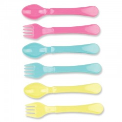 Baby King Set of 6 Easy Grip Cutlery Set