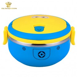 Minions Single Layer Thermal Bento Lunch Box