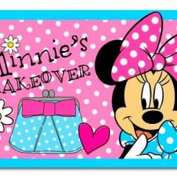 Minnie Mouse Area Rug- Minnie's Makeover (80cm x 50cm)