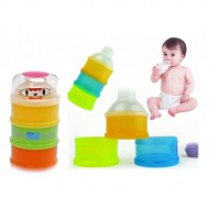 Baby 3 cells Milk Powder Dispenser - Baby King, Apple baby