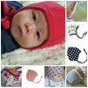 Baat Co. Baby Cotton Pilot Hat with Rope- assorted designs- Boys & Girls