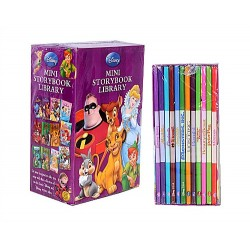 Disney Set of 12 Mini Storybook Library - assorted titles