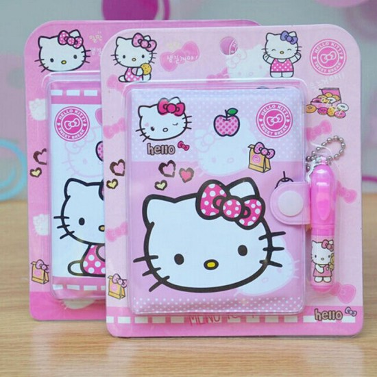 Cute Mini Note-Books with Pen- assorted characters