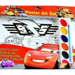 Character Kids Poster Art Set- assorted