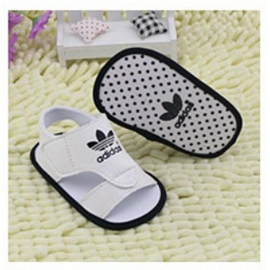 Adidas Baby boy White prewalker sandals- Size 1