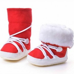 Carters Baby Super Warm Unisex baby boys/Girls Fur Boots (3-6mths)