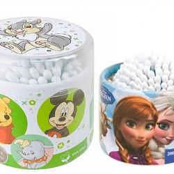 Disney Cotton Buds - 200 Pack- Frozen, Mickey, Winnie