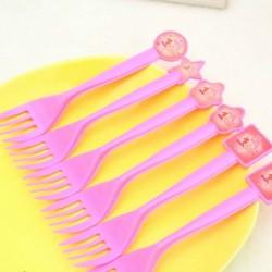 1st Birthday Princess Party 6pc Dessert Forks