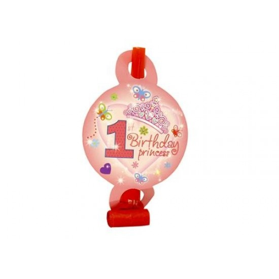 1st Birthday Princess Party Blowout Favors
