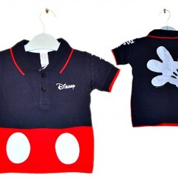 Mickey Mouse Boys Polo tees- 2 colours (6mths-18mths)