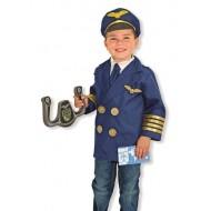 Children's Pilot Role Play Set Costume for Kids- 3-5yrs- UNISEX
