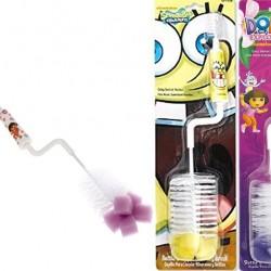 Nickelodeon Dora & Spongebob Baby Bottle Brush