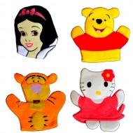 Character Wash Mitt - Assorted designs- Princess, Kitty, Pooh, Tigger