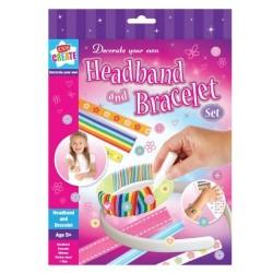 Kids Create: Decorate Your Own Headband & Bracelet Set- 5yrs+