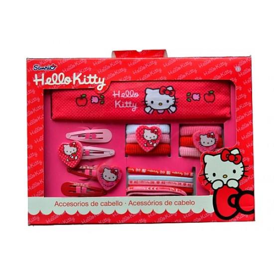 f7ccb5813 Sanrio Hello Kitty 17pcs Hair accessories Box Set