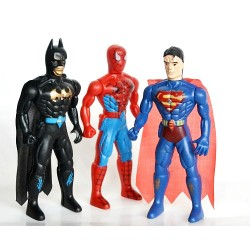 Boys 3pack Super hero MINI figures with Light