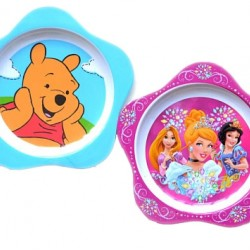 Star-Shape Character melamine Plates- assorted