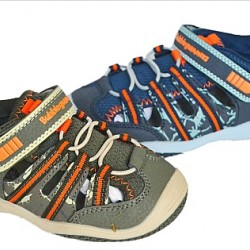 Bubble Gummers Boys Boat Sandals- Size EUR 26-29