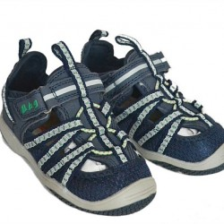 Bubble Gummers Boys Boat Sandals- Size EUR 23