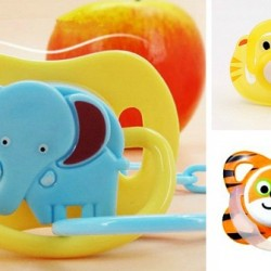 Dotty Baby Fun Animal Soothers- assorted