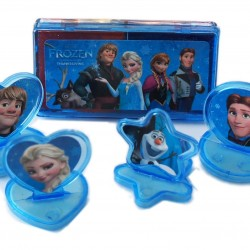 Disney Frozen Ink Pad & Rubber Stamp Set