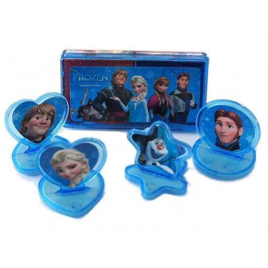 Disney Frozen Ink Pad & Rubber Stamp Set