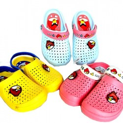 Angry Birds Kids Rubber Clogs- Size 24-29
