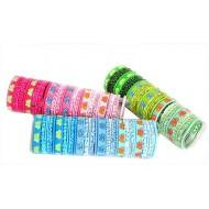 Girls Hair Elastics 18pc Pack- assorted colours