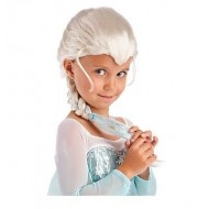 Princess Elsa Braided Girls Wig