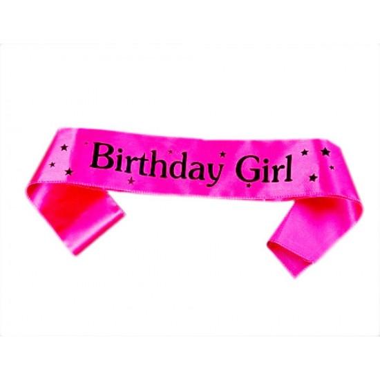 Birthday Girl/ Boy Sash